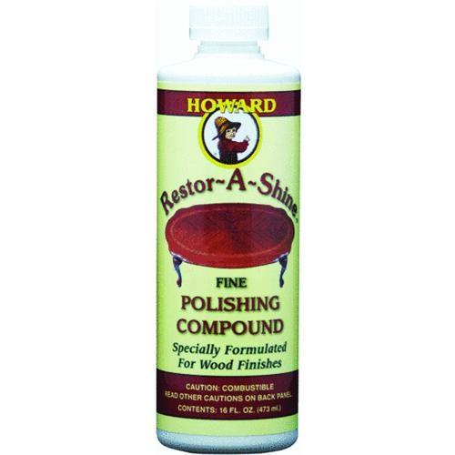 Howard Products Restor-A-Shine Polishing Cream Wood Polish