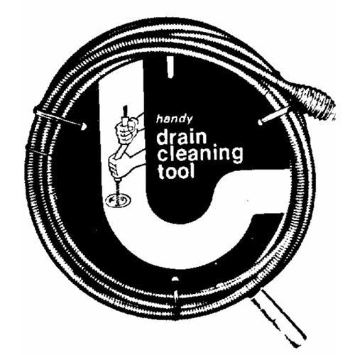 Gen. Wire Spring Cleanout Drain Auger