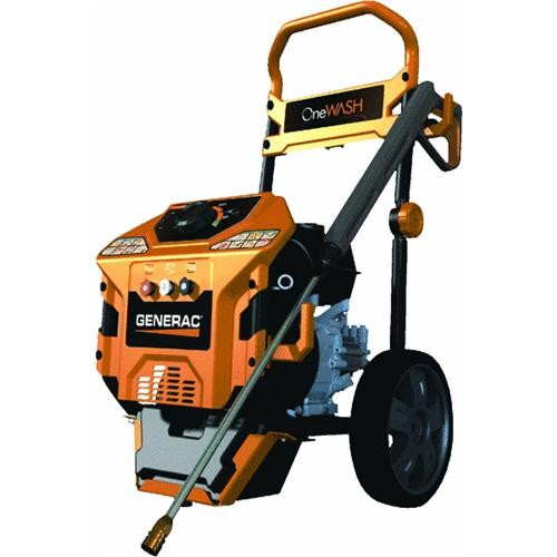 Generac Power Systems One Wash 3000 PSI Low Emission Cold Water-Gas Pressure Washer