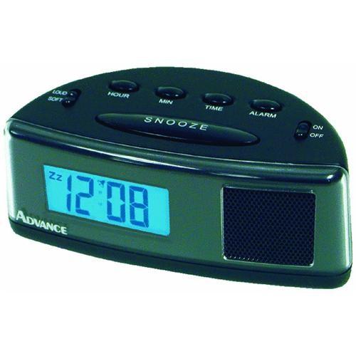 Geneva Clock Company Advance Extra Loud Battery Operated Alarm Clock