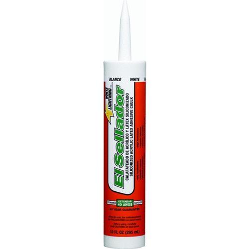 White Lightning Prod. White Lightning El Sellador Acrylic Siliconized Latex Caulk