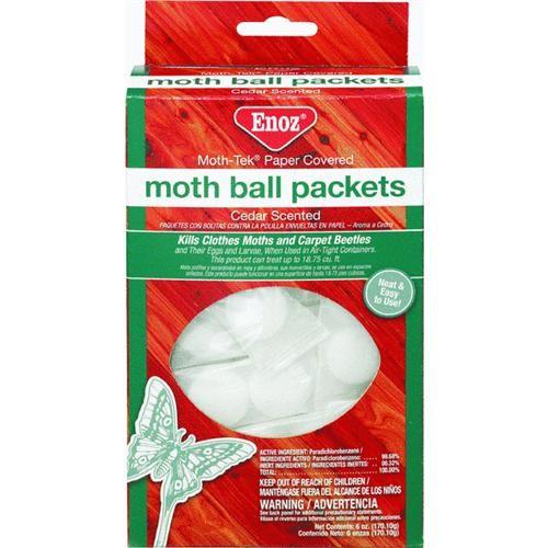 Willert Home Prod. Enoz Moth Ball Moth Control Closet Freshener