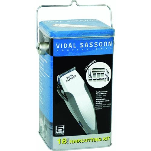 Helen of Troy L.P. Vidal Sassoon Rechargeable 12-Piece Hair Clipper Set