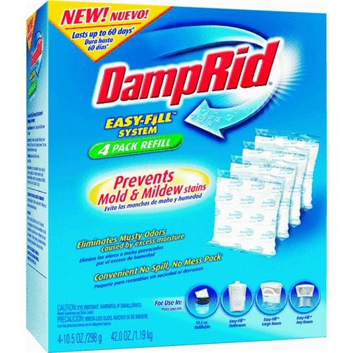 William Barr DampRid Easy-Fill Moisture Absorber Refill