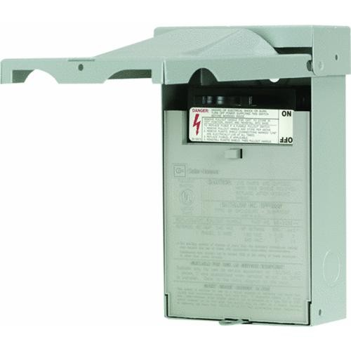Eaton Corporation Cutler Hammer Fused Air Conditioner Disconnect