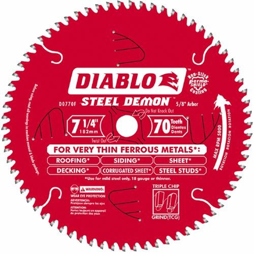 Freud Inc Diablo Steel Demon 7-1/4