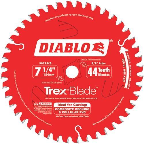 Freud Inc Diablo/Trex Composite Circular Saw Blade