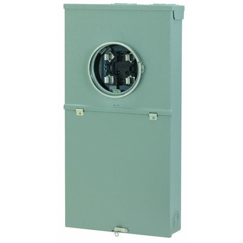 GE Industrial Dept. GE 200A Meter Socket Load Center