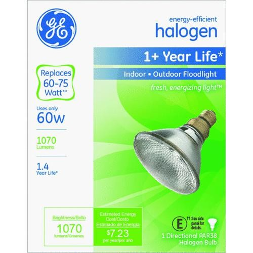GE Lighting GE PAR38 Halogen Floodlight Light Bulb