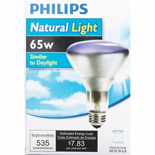Philips Lighting Co Philips Natural Light BR30 Incandescent Floodlight Light Bulb