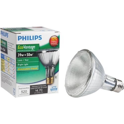 Philips Lighting Co Philips EcoVantage PAR30 Halogen Floodlight Light Bulb
