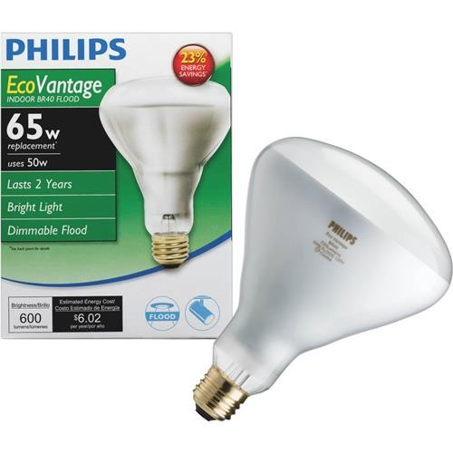 Philips Lighting Co Philips EcoVantage BR40 Halogen Floodlight Light Bulb