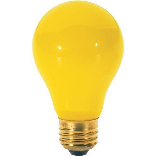 SATCO PRODUCTS, INC. Satco A19 Incandescent Bug Light Bulb