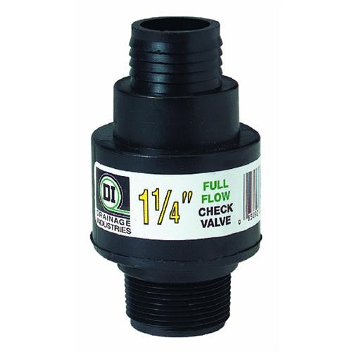 Drainage Industries ABS Thermoplastic Sump Pump Check Valve