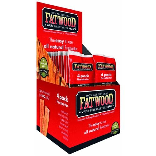 Wood Products Intl. Fatwood Fire Starter Display Box