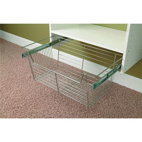 Easy Track - Stow Co Easy Track Chrome Wire Basket