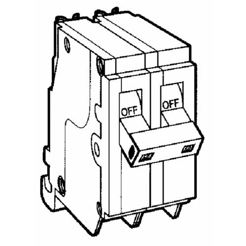 Eaton Corporation Cutler-Hammer Double Pole Circuit Breaker