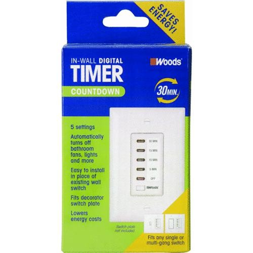 woods 24 hour outdoor timer instructions