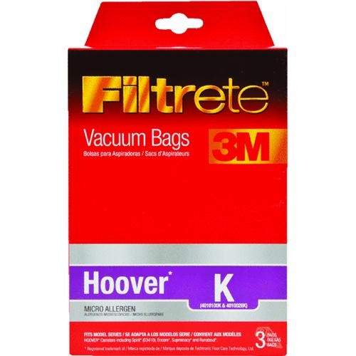 Electrolux Home Care Filtrete Hoover K Vacuum Bag