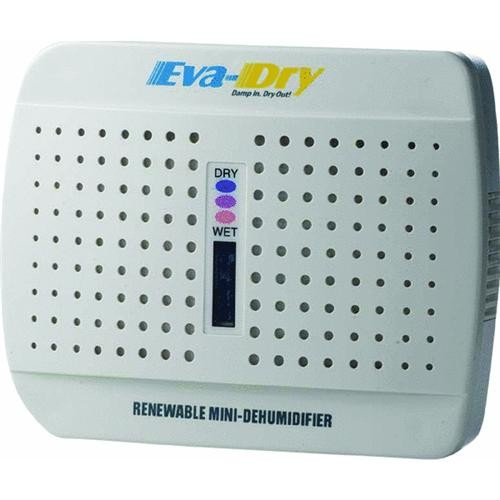 Eva-Dry Eva-Dry 333 Cu Ft Renewable Mini Dehumidifier