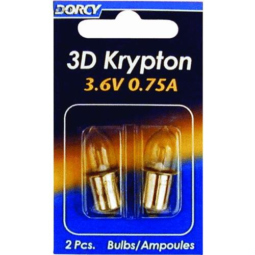 Dorcy International 2CD 3D Flashlight Bulb