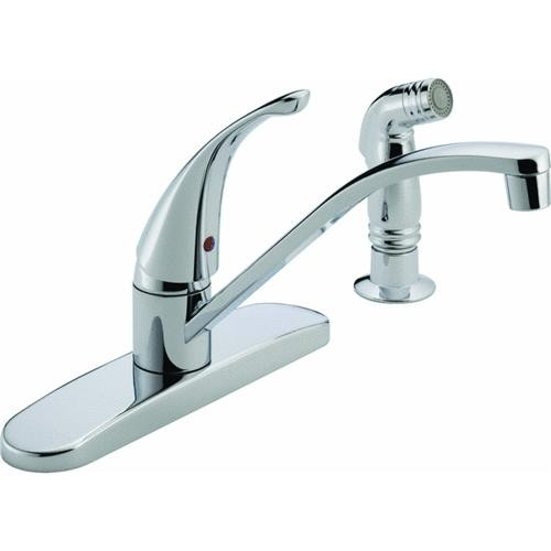 Delta Faucet Peerless Single Handle Kitchen Faucet With Spray