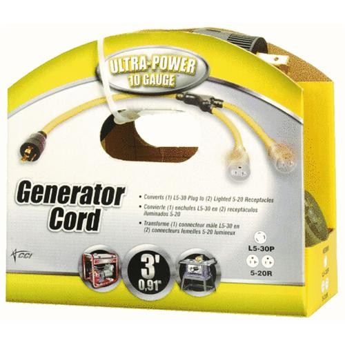 Woods Ind. Generator Cord