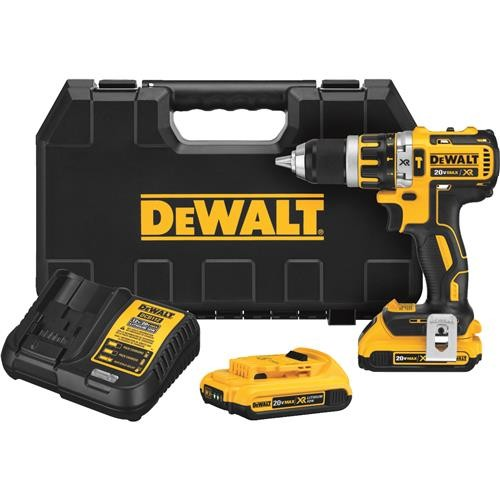 Dewalt DeWalt 20V MAX XR Brushless Lithium-Ion Cordless Hammer Drill Kit