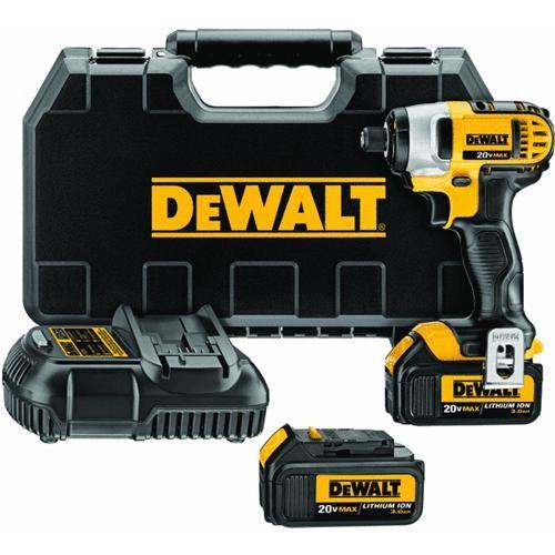 Dewalt DeWalt 20V MAX XR Lithium-Ion Cordless Impact Driver Kit
