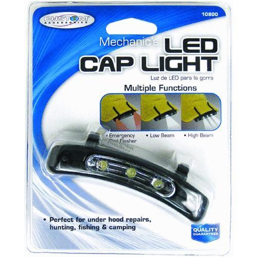 Custom Accessories Mechanic's Portable Clip-On Light