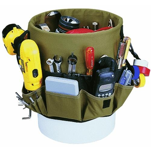 Custom Leathercraft 48-Pouch Bucket Pocket