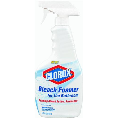 Clorox/Home Cleaning Clorox Bleach Foamer Bathroom Cleaner