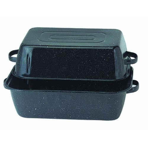 Columbian Home Prod. GraniteWare Covered Rectangle Roaster Pan