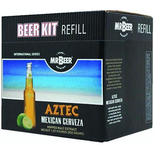 Coopers LLC/Mr Beer Aztec Mexican Cerveza Beer Brewing Kit Refill