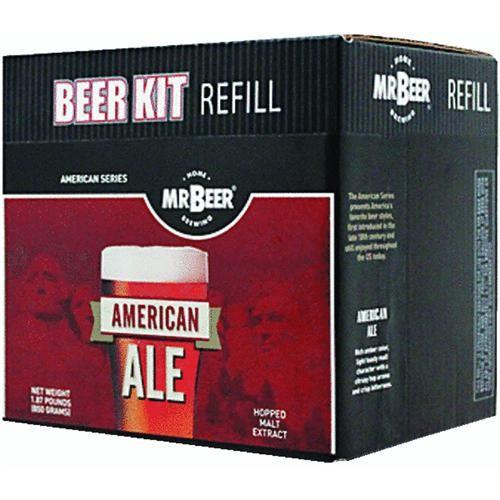 Coopers LLC/Mr Beer American Ale Beer Brewing Kit Refill