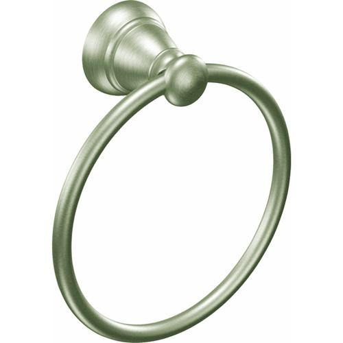 CSI Donner Banbury Brushed Nickel Towel Ring