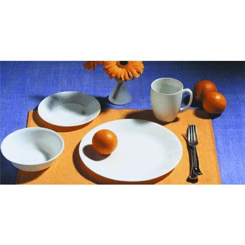 World Kitchen/Ekco Corelle 16-Piece Winter Frost White Dinnerware Set