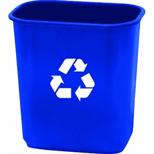 United Solutions 13 Quart Recycling Office Wastebasket