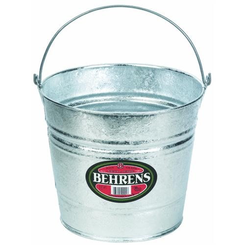 Behrens Galvanized Hot-Dipped Steel Pail