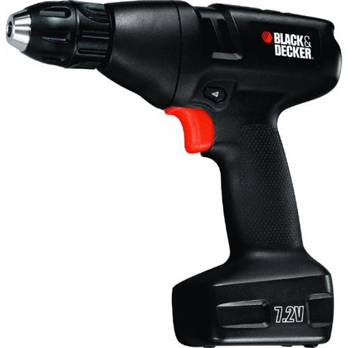 Black & Decker Black & Decker 7.2V Lithium-Ion Cordless Drill Kit