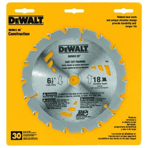 Black & Decker/DWLT Thin Kerf Carbide Tipped Saw Blade