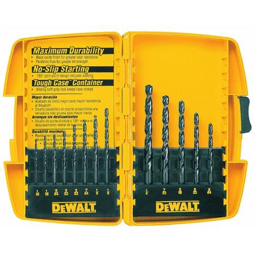 Black & Decker/DWLT DeWalt 13-Piece Black Oxide Drill Bit Set