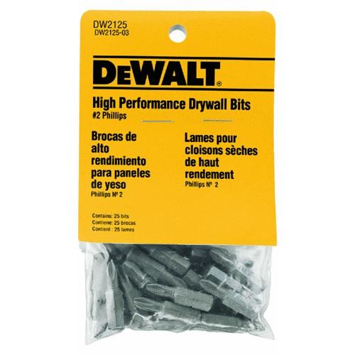 Black & Decker/DWLT 25-Piece Drywall Screwdriver Bit Set