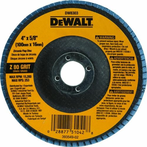 Black & Decker/DWLT DeWalt Type 27 High Performance Angle Grinder Flap Disc