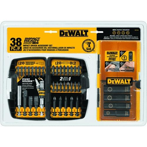 Black & Decker/DWLT DeWalt 35-Piece Impact Screwdriver Bit Set