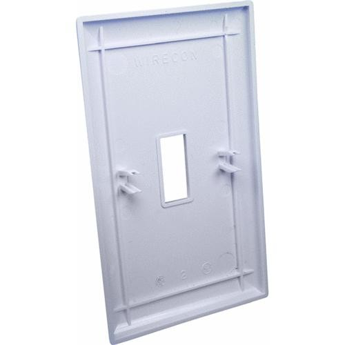 United States Hdwe. Single Gang Wall Plate