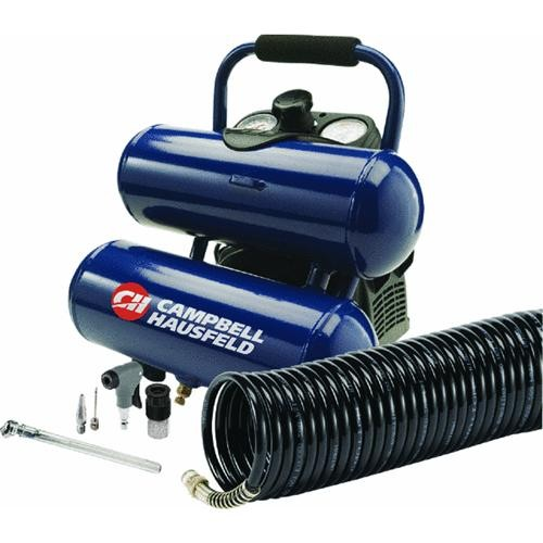 Campbell Hausfeld Campbell Hausfeld 2 Gallon Twin Stack Air Compressor Kit