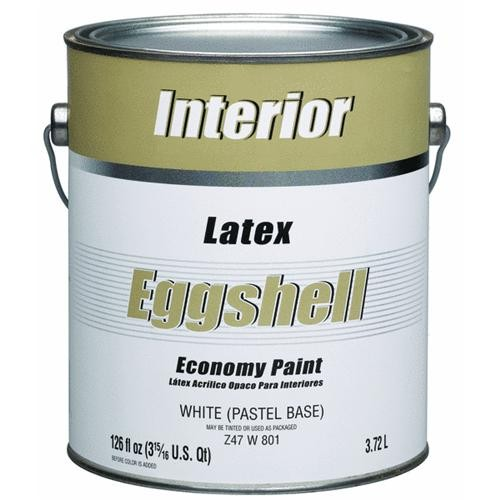 - Economy Interior Latex Eggshell Wall Paint