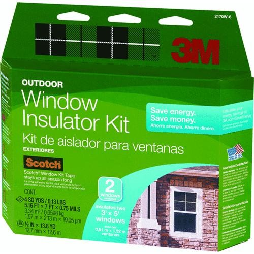 3M Outside Window Insulator Kit