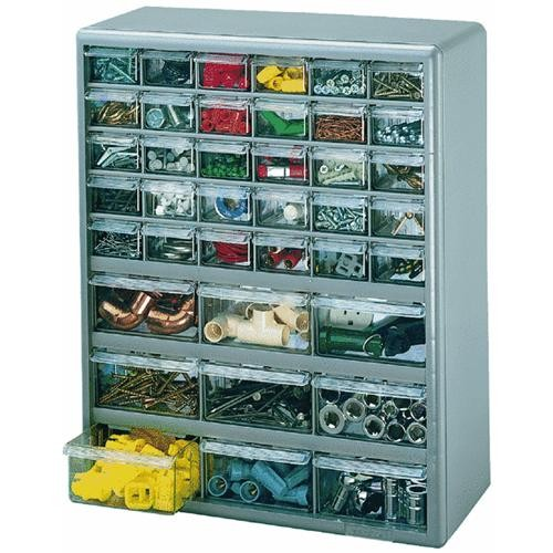Akro Mils 44-Drawer Small Parts Cabinet